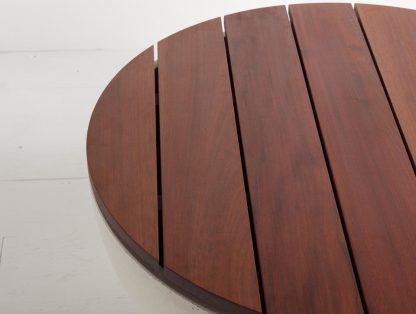 Hemi Ipe wood tabletop