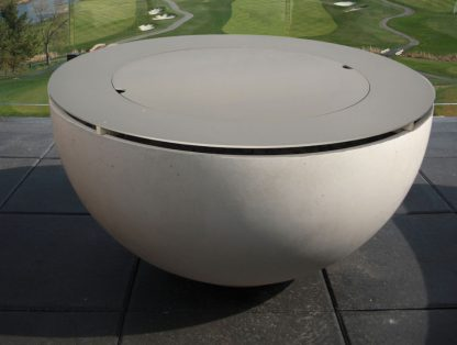 Solus Metal Table Top with Fire Ring for Hemi firepit