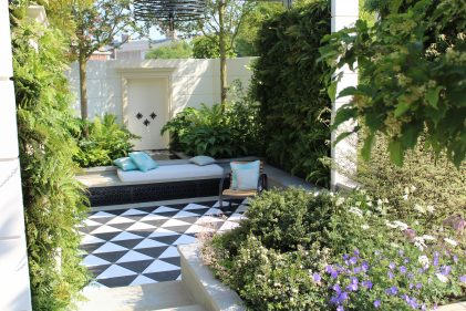 Kate Gould, outdoor living, contemporary garden design, urban living, outdoor space