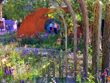 Savills, RHS Chelsea, Nic Howard, David Harber, Contemporary garden design,