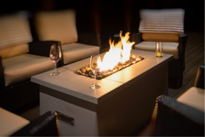 Solus Firetable gas firepit